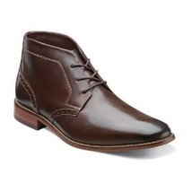 Florsheim Castellano Chukka Boot Brown Smooth  Leather Lace Up 14152-200 - $125.55