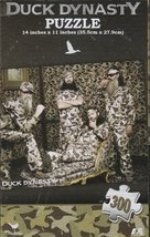 Duck Dynasty Men 300 Piece Puzzle by Cardinal - $12.98