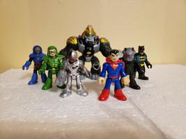 Fisher Price Imaginext Justice League 7-Pack Batman Superman Green Arrow... - $74.99