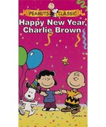 Peanuts: Happy New Year Charlie Brown Slip Case Packaging [VHS] - $25.90