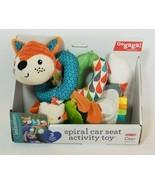 Infantino Go GaGa! Spiral Car Seat Activity Toy Orange Fox Car Seat Toy ... - $21.73