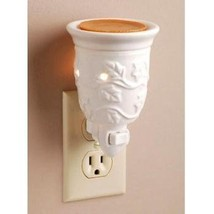Ceramic plug-in night light aroma wax melter by Darice - $12.52