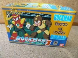 BANDAI Model Kit Rockman Battle Set 3 VS Ringman New unassembled A62 - $540.00