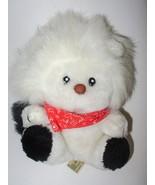 Applause Sandy Lion 1983 Plush Stuffed Animal White Black Rope Tail - $17.80
