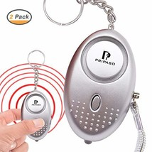 Personal Security Alarm Keychain with LED Light, Emergency Self-Defense ... - $15.13