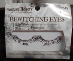 New Fantasy Makers Bewitching Eye Eyelashes Entangled Halloween - $5.50