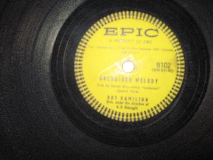 78 rpm record-Roy Hamilton Orchestra