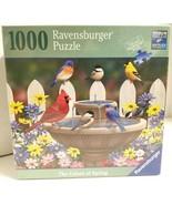 Ravensburger 1000 Piece Puzzle The Color Of Spring Birds Premium Softcli... - $14.20