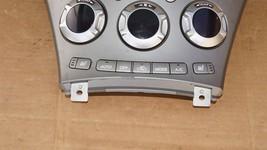 06 Subaru Tribeca B9 Heater Climate Control Dash Air Vents Info Stereo Faceplate image 2