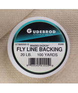 Gudebrod Braided Dacron 20lb White Fly Line Backing - 100 yds - $7.99
