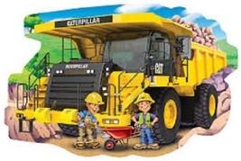 Cat (Caterpillar) Dump Truck Jigsaw Puzzle 36 Piece Floor Masterpieces P... - $29.99