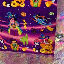 VHTF MINT Vintage Lisa Frank Pigarella Fortune Teller Halloween Stickers S319 image 3