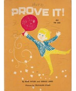 Prove It! by Rose Wyler and Gerald Ames 1967 Scholastic Book Talivaldis ... - $6.92
