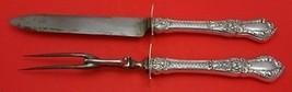 "Henry II by Gorham Sterling Roast Carving Set 2pc (11 7/8"" Knife & 11"" F... - $247.10"