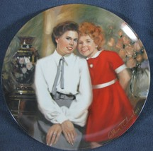 Annie and Grace Little Orphan Annie Collector Plate William Chambers COA... - $15.97