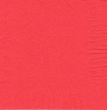 """2 Plastic Rectangular Tablecloths 54""""X 108"""" Table Cover - Coral - $4.90"""