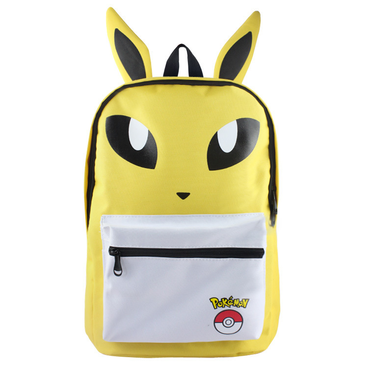 bf6a328180bc Pokemon Game Theme Backpack Schoolbag and 14 similar items. Pokemon  backpack schoolbag daypack yellow jolteon