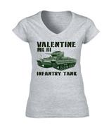 VALENTINE MK III - NEW COTTON GREY LADY TSHIRT - $20.70