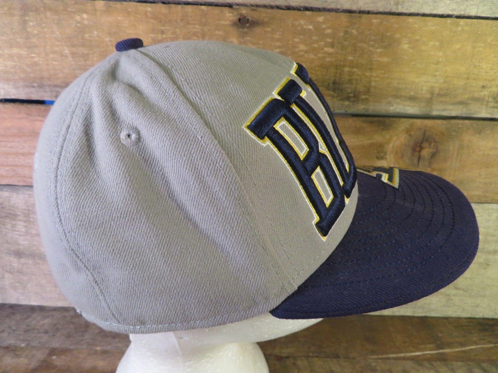 c075d0d041a ... closeout st louis blues hockey nhl new era size 7 fitted hat adult cap  4e629 3dedd