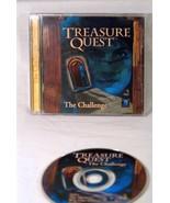 TREASURE QUEST The Challenge PC Game CD-ROM Adventure - $2.96