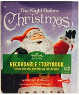 Hallmark The Night Before Christmas Recordable ... - $29.69
