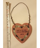 Trust In The Lord With All Your Heart, Wood Plaque, pre-owned, cute, dec... - $8.15