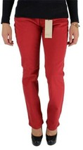NEW LEVI'S WOMEN'S 505 PREMIUM CLASSIC STRAIGHT LEG JEANS RED 155050091 image 1
