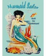 Mermaid Salon Call for Appointment Beauty Fantasy Metal Sign - $24.95