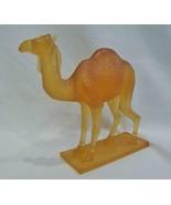 Daum Crystal Pate de Verre Camel Figurine Dromadaire 05033 - $1,295.00