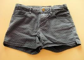 GAP Kid's Denim Blue Spotted Shorts 12 years - $5.00