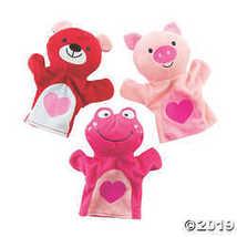 Plush Valentine's Day Hand Puppets  - $24.99