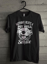 Nothing Beats A Pitbull Smile - Custom Men's T-Shirt (1743) - $19.13+