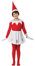 Rasta Imposta Elf on the Shelf Girls Childs Christmas Holiday Costume GC4319710 - £33.92 GBP