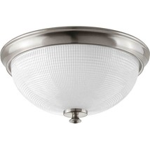 Progress Lighting Lucky 3-Light Brushed Nickel Flushmount - €45,31 EUR