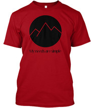 Climbing My Nes Are Simple Hanes Tagless Tee T-Shirt - $16.99