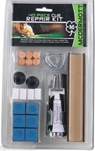 McDermott 40 Piece Deluxe Cue Repair Kit w Tips & Chalk - $21.95