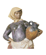 Lladro 01012049 COUNTRY WOMAN Limited Edition Perfect Condition - $1,584.00