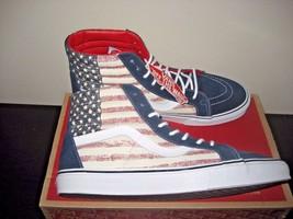 43241b60aa Vans Sk8-Hi Reissue Mens Americana Dress Blues Skate shoes Size 11 VN-0Z