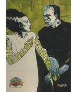 Universal Monsters Deluxe Promo Trading Card 1994 Topps NM - $8.81