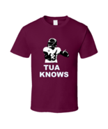 Tua Tagovailoa Knows Hawaiian Qb Alabama Football T Shirt - $19.99