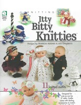 Knitting Itty Bitty Knitties-11 Knitted Outfits - $9.46