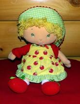 "Strawberry Shortcake Plush 13"" Talking APPLE DUMPLIN' - Colorful & Bright - $11.49"