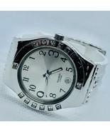 Swatch Watch Irony White Band Women's Date Watch - $65.69