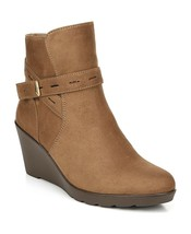 Naturalizer NEW Jill Comfort Cushioned Faux-Leather Booties Shoes 6 - $43.81