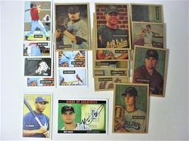 Lot of (18) 2005 Bowman Heritage Baseball Cards-ex/mt-Sp/Clemons - $12.50
