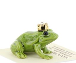Birthstone Frog Prince April Simulated Diamond Miniatures by Hagen-Renaker image 5