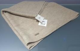 N) Woman Calvin Klein Soft Acrylic Infinity Loop Scarf Wrap Almond A5K13009 - $34.64