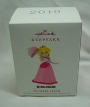 Nintendo Super Mario Princess Peach Hallmark Keepsake Christmas Ornament 2019 - $19.80