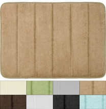 """Super Soft and Absorbent Non Slip Memory Foam Bath Mat 21""""x34"""" 8 Colors - $18.89"""