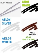 RUBY KISSES AUTO EYELINER AUTOPENCIL TWISTS UP NO SHARPENING # AEL CHOOS... - $1.00